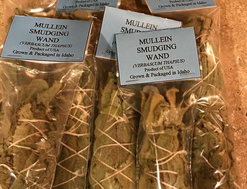 mullein smudge wnad