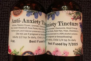 Anti-Anxiety Tincture